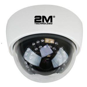 2M Technology 2MDT-2MIR30V 2MP TVI 1080P Indoor Dome Camera