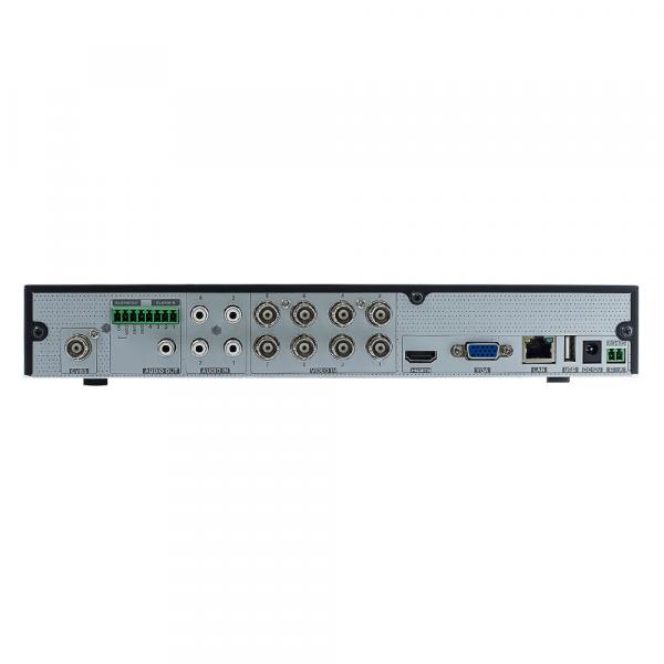 2M Technology 2MT-7008 8 Ch. 1080P HD TVI Hybrid DVR - Back