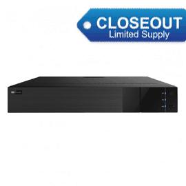 2M Technology 2MTVIR-16TD 16 Ch. 1080P HD TVI, CVI, AHV, CVBS, IP DVR-Closeout