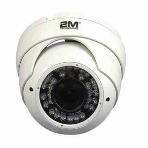 2MVT-2MIR25V White Vandal Proof Dome Eyeball