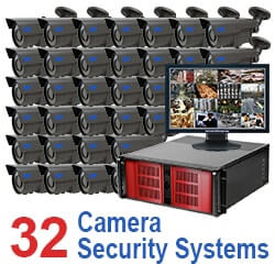 32 Camera Security Systems