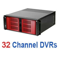 32 Channel DVR System