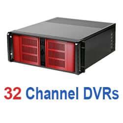 32 Channel DVRs