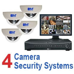 4 Camera Security Systems