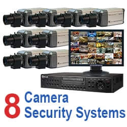 8 Camera Security Systems