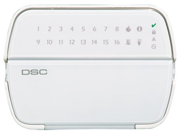 DSC PK5516/RFK5516 PowerSeries 16 Zone LED Keypad