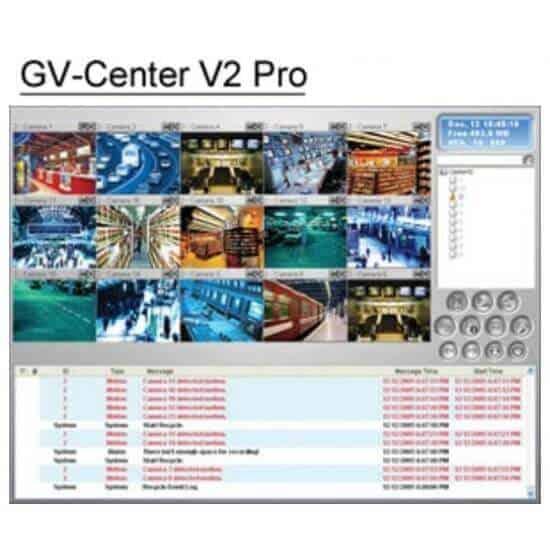 GeoVision GV-Center V2 Pro Central Monitoring Station Software