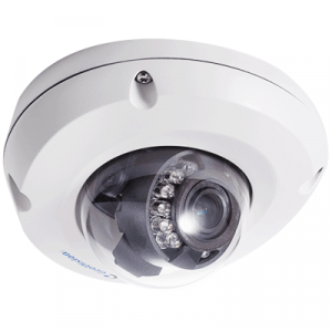 GeoVision GV-EDR1100-0F Mini Fixed IP Dome Camera