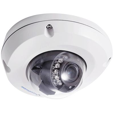 GeoVision GV-EDR1100-0F Mini Fixed IP Dome Camera