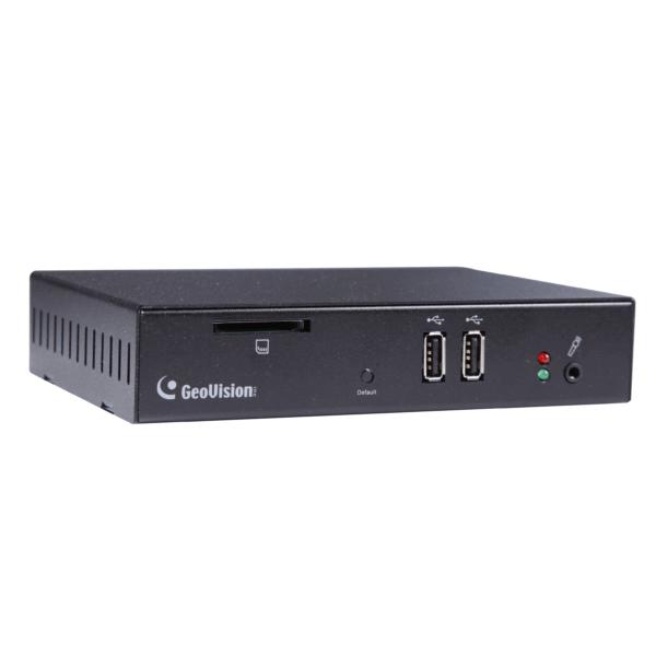 GeoVision GV-IP Decoder Box Plus - 3qtr
