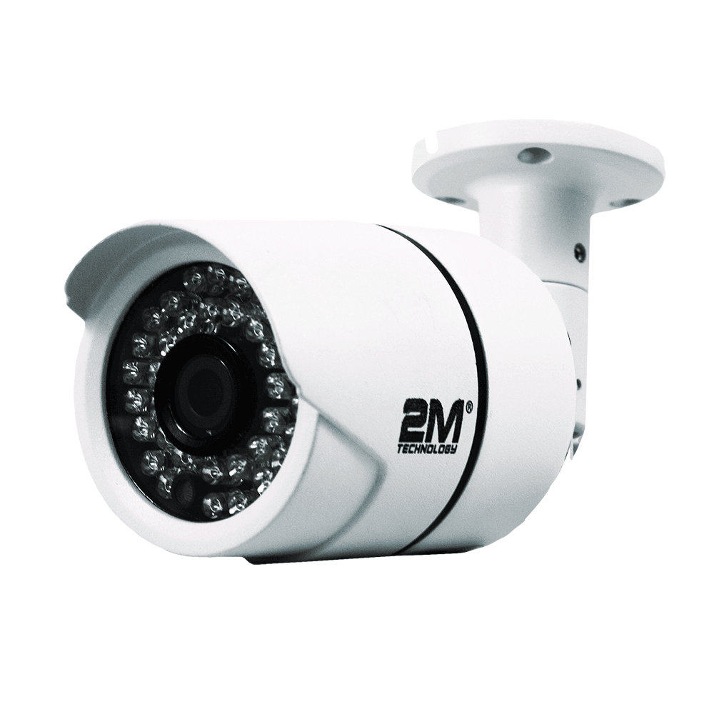 2M Technology 2MBT-2MIR20 2.0MP TVI Bullet Camera with Fixed Lens-1