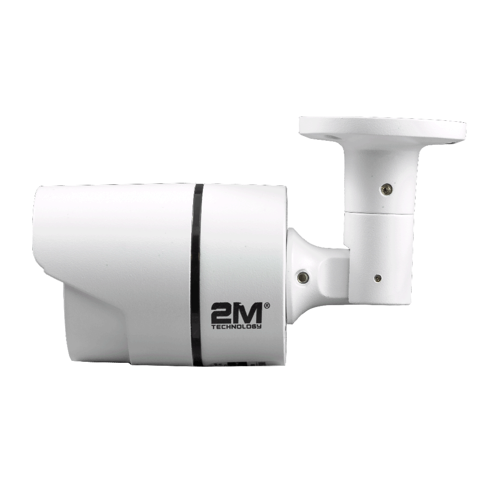 2M Technology 2MBT-2MIR20 2.0MP TVI Bullet Camera with Fixed Lens Side View-4