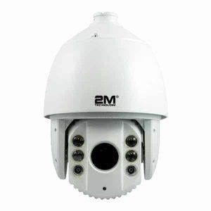 2M Technology 2MPT-2MIR10030X 1080P TVI PTZ Dome Camera With IR