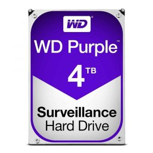 WD Purple Hard Drive WD40PURZ-4TB-1