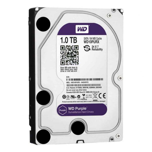 Western Digital 1TB Hard Drive Purple -2