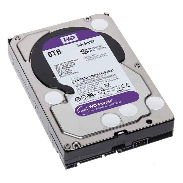 WD Purple Hard drive WD60PURZ-6TB -3