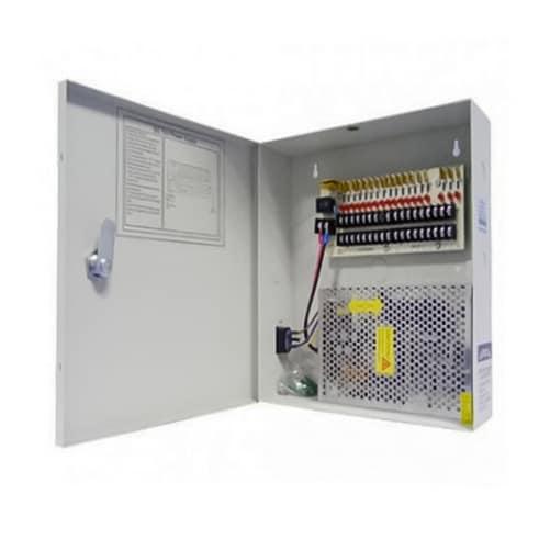 2M Technology 2M-12V1810 18-Port 12VDC Power Distribution Box