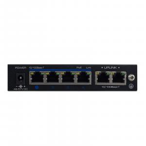 2M Technology 2M-SW-04TP 4 Port PoE Switch - Back-1