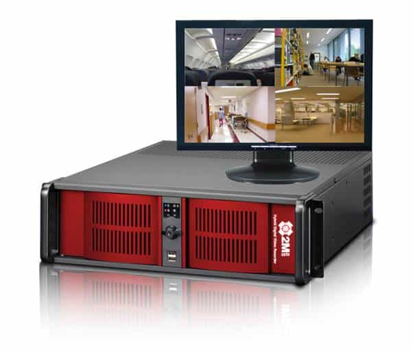 16 Camera Readied Rackmount NVR System
