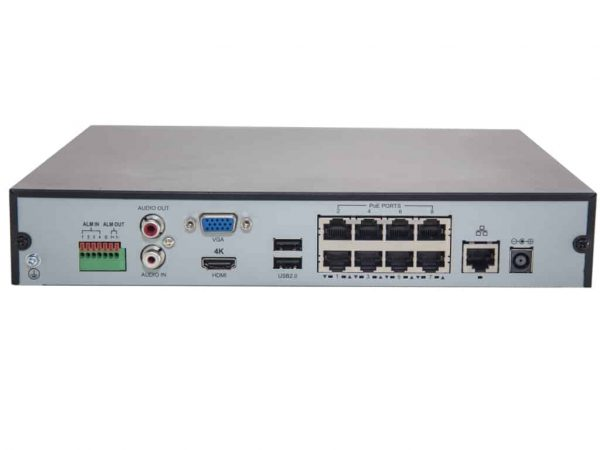 2M Technology 8 Channel Network Video Recorder-23170