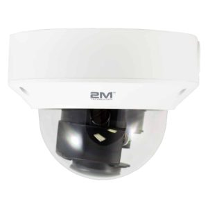 2M Technology 2MVIP-4MIR30Z-P 4MP Motorized VF Vandal-resistant Network IR Dome Camera