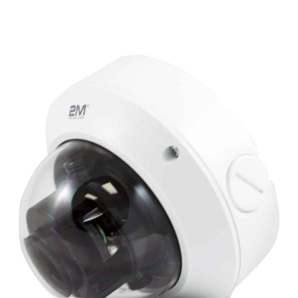 2M Technology 2MVIP-4MIR30Z-P 4MP Motorized VF Vandal-resistant Network IR Dome Camera