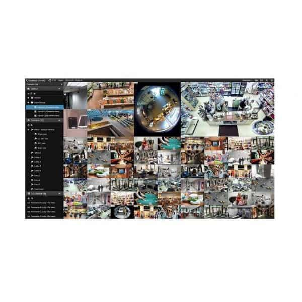 Geovision GV-VMSPRO012 (12 Channel) 3rd Party VMS Software License for 64 Channels