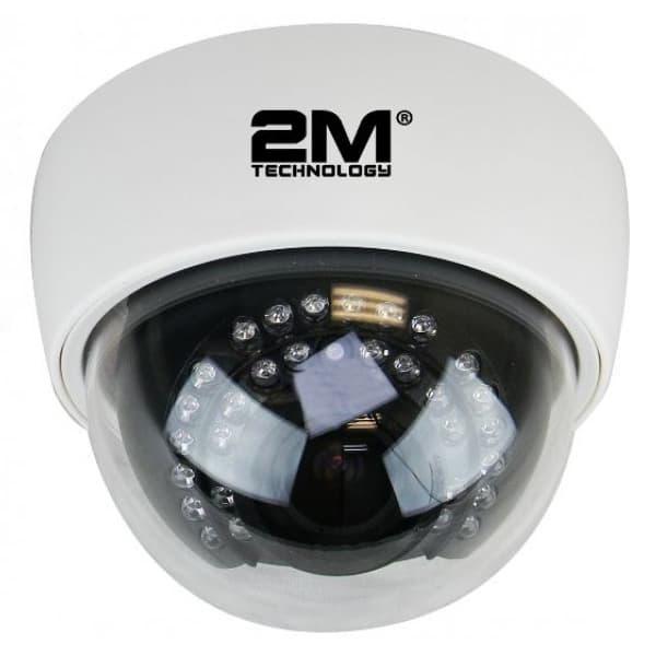 2M Technology 2MDT-2MIR30Z TVI Analog 2MP IR Dome Camera