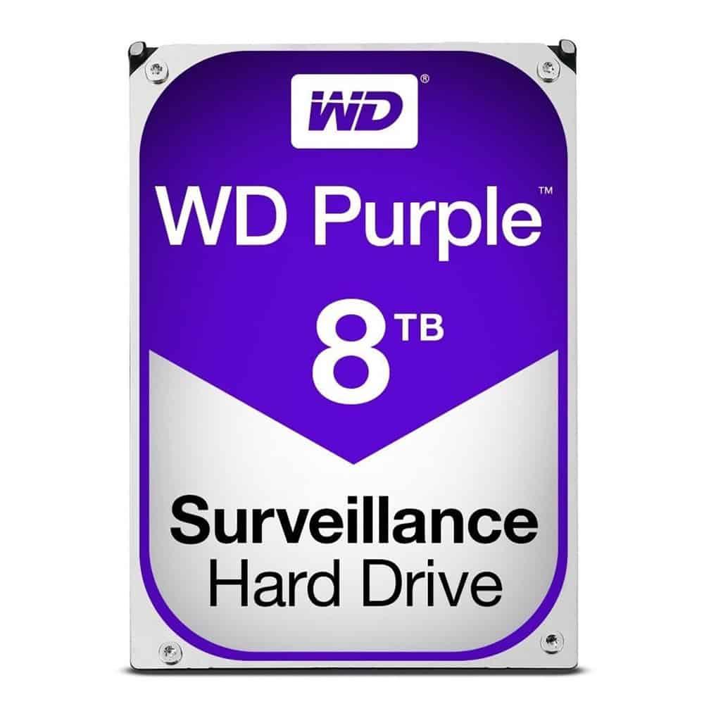 WD WD80PURZ-8TB Purple Hard Drive