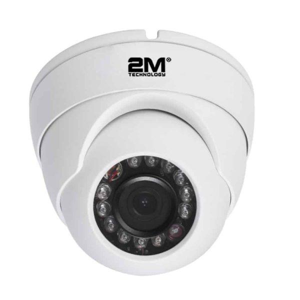 2M Technology 2MV-5MIR20 Vandal Proof IR Dome Camera-2