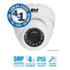 2M Technology 2MV-5MIR20 Vandal Proof IR Dome Camera-1