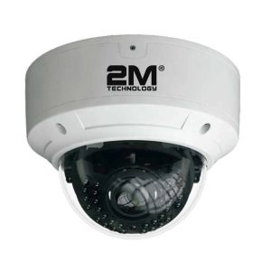 2M Technology 2MV-5MIR30V Vandal Proof All in one Dome IR Camera