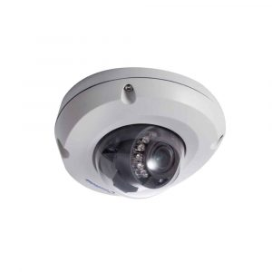 Geovision GV-EDR2100-0F Rugged Mini IP Dome Camera, 2.8MM lens