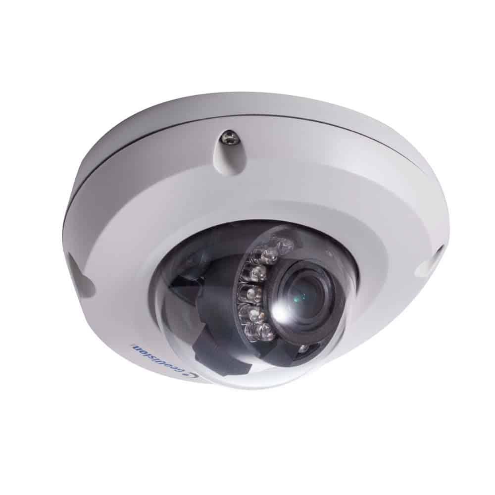 Geovision GV-EDR2100-2F Rugged Mini IP Dome Camera, 3.8MM lens