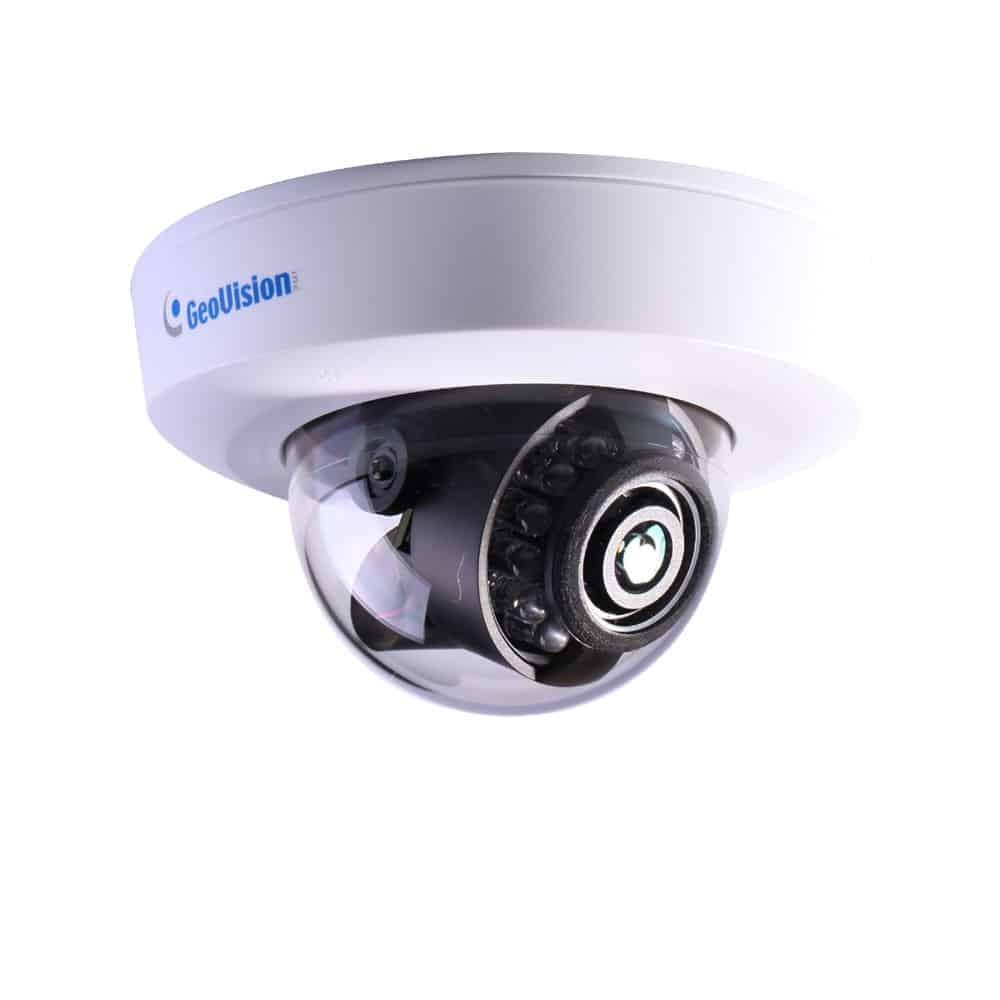 Geovision GV-EFD4700-0F 4MP H.264 Super Low Lux WDR IR 2.8mm Mini IP Dome Camera
