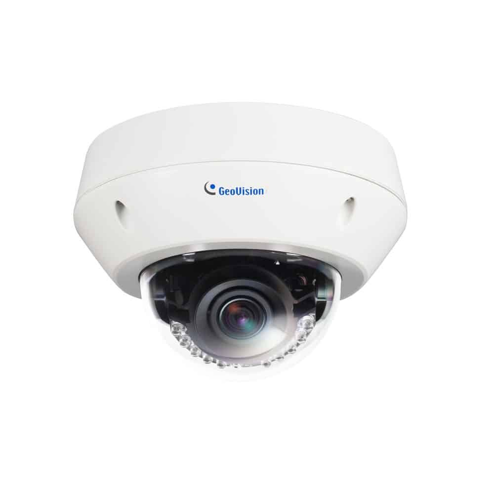 Geovision GV-EVD3100 3MP H.264 Super Low Lux WDR Pro IR Vandal Proof IP Dome Camera