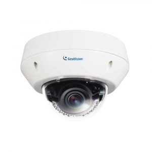 GeoVision GV-EVD5100 5MP H.264 Low Lux WDR IR Vandal Proof IP Dome