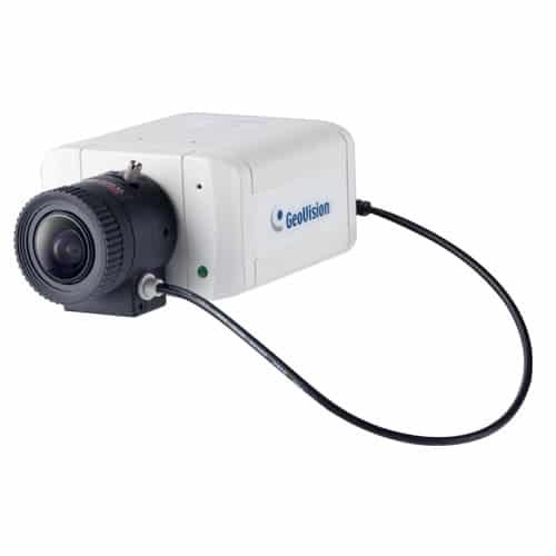 GeoVision GV-BX2700-8F 2MP H.265 Super Low Lux WDR Pro D/N Box IP Camera