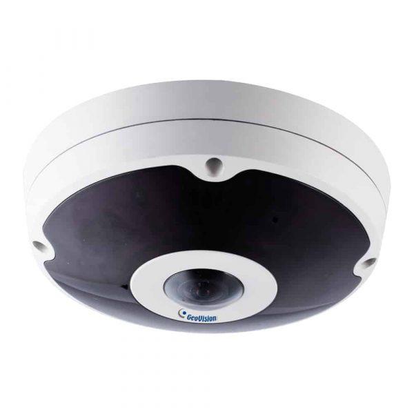 Geovision GV-FER12203 12MP H.264 Low Lux Fisheye Rugged IP Camera