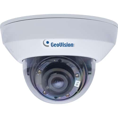 GeoVision GV-MFD2700-0F 2MP H.265 Super Low Lux WDR Pro IR Mini Fixed Dome Camera