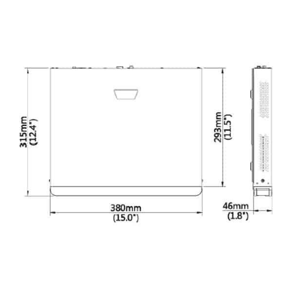 2MN-8004-P4 Dimensions