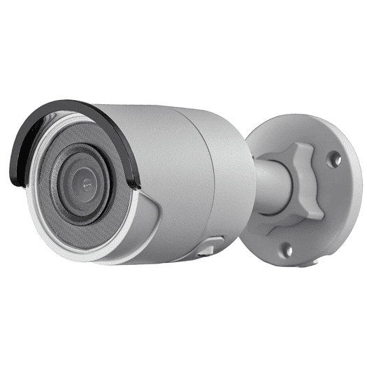 Hikvision OEM 8 mp White Bullet Fixed 2.8MM