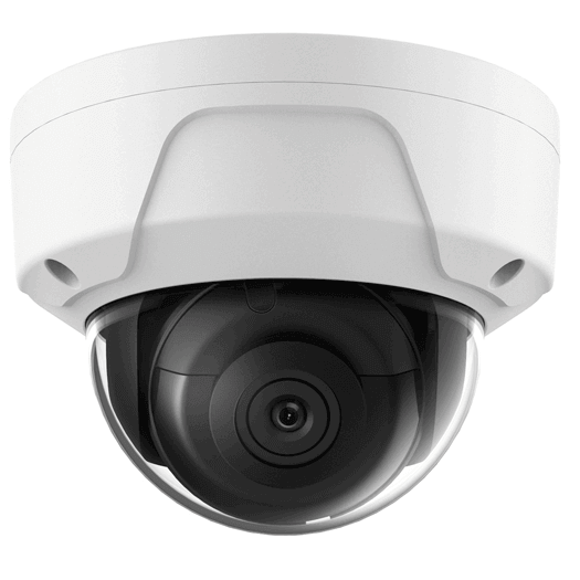 Hikvision OEM 10 mp White Miniture Dome Fixed 4MM
