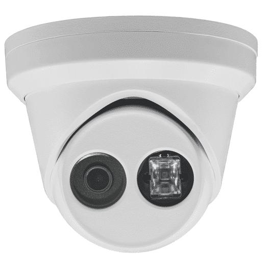 Hikvision OEM 11 mp White Turret / Eyeball Fixed 2.8MM