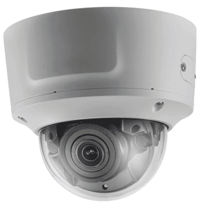 Hikvision OEM 5 mp White Vandal Dome Motorized 2.8-12MM