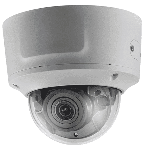 Hikvision OEM 5 mp White Vandal Dome Motorized 2.8-12MM