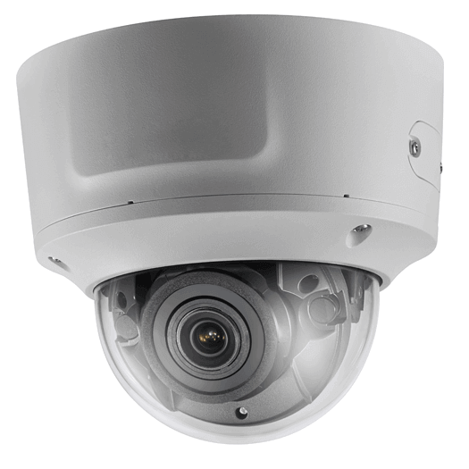 Hikvision OEM 13 mp White Vandal Dome Motorized 2.8-12MM