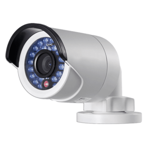 Hikvision OEM 2 mp White Bullet Outdoor Weather Proof Fixed 4MM