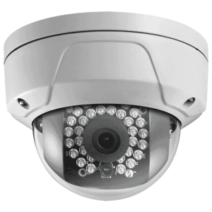 Hikvision OEM 2 mp White Miniture Dome Vandal Resistant Fixed 2.8MM