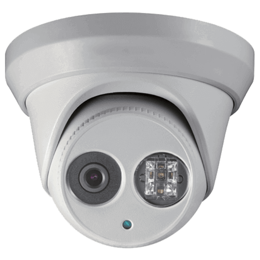 Hikvision OEM 2 mp White Turret / Eyeball Fixed 2.8MM